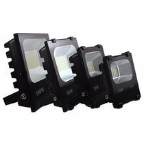 Kit Com 3 Refletores De Led Holofote 10w 220v Branco Frio