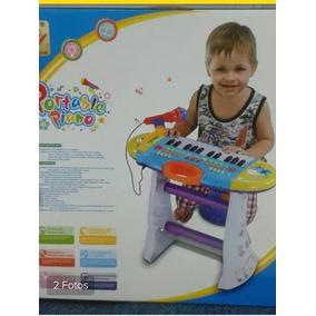 Piano Teclado Musical Para Niños Infantiles