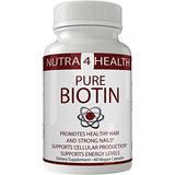 Natural Biotin Capsules   Pastillas Biotin Para El Cabell