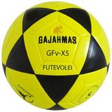 678a0721cc Bola De Futevôlei Gajahmas Gfv-x5 pu 18 Amarela E Preto