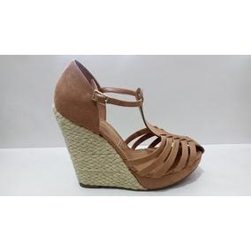 65711bb56 Sandalia Anabela Vizzano 36 - Sapatos no Mercado Livre Brasil