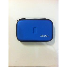 Case Nintendo 3ds Xl Azul Estojo Capa Serve Fat Slim Novo