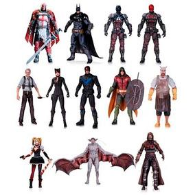 Dc Batman Arkham Knight Figuras Ps4 X-box Wii Azrael Robin +