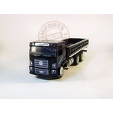 Vw Constellation Truck Carga Seca 1/50 Preto