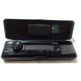Frente Para Som Cd Player Sony Xplod Dsx-a37x + Caixa