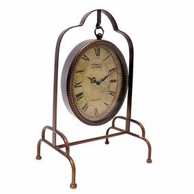 Relógio De Mesa Balanço Pendurado Retrô - Arara Cabideiro