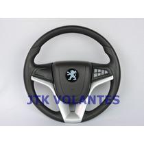 Volante Cruze Comando De Som Peugeot 106 206 306 Bz Volante