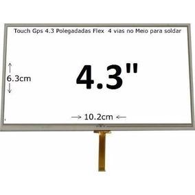 Tela Touch Aquarius Guia Quatro Rodas Mtc4373 Tela 4.3 Tv
