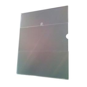 Porta-afiche Tamaño Carta Vertical En Acrílico
