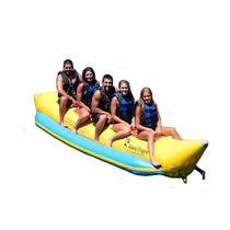 Banana Inflable Island Hopper Comercial Playa 5 Personas