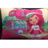 Travesseiro Estampado Almofada Infantil Moranguinho