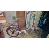 Bicicleta Graziella Antigua Rodado 20 Modelo Especial