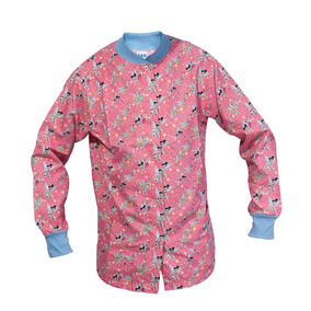 Bata Cuello Mao (rosada)