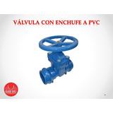 Valvula Esclusa Con Enchufe A Pvc Ø75