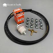 Tonella - Kit Linha De Combustível Fusca Dupla Carburação 6m