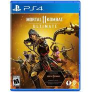 Mortal Kombat 11 Ultimate Ps4 Juego Fisico Sellado Cd