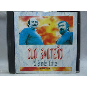 20 Grandes Exitos, Duo Salteño Audio Cd En Caballito *