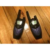Handy Walkie Talkie Cobra Microtalk Pr 4100 16 Millas (25km)