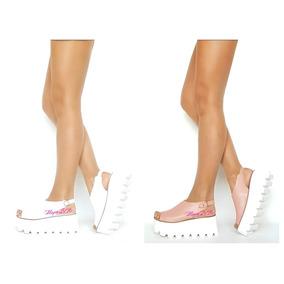 Zueco Sandalia Zapato Mujer Blanco-perl Art 810 Mugato-bsas®