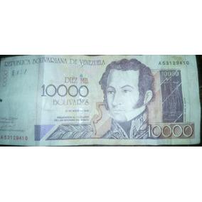 Billete De Colección De 10000