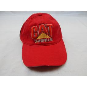Gorra Caterpillar - Bordada - Color Roja
