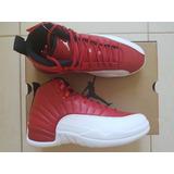 Tênis Nike Air Jordan 12 Retrô Gym Red Nba Masculino Origina