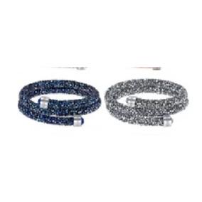 f697edf178b53 Bracelete De Naja Com 2 Cabeças Com Cristais Swarovski - Joias e ...