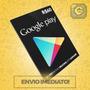 Cartão Google Play Gift R$60 Reais (r$30+r$30) Br Android
