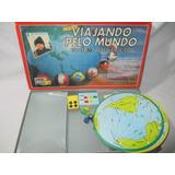 Antigo Jogo Viajando Pelo Mundo Game Office Completo