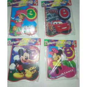 Bienvenido Fiesta Infantil Cars Minnie Toys Story Mickey Y +
