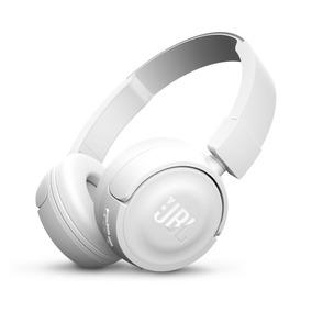 Audifonos Jbl T450 Bluetooth - Blanco + 1 Año Garantia