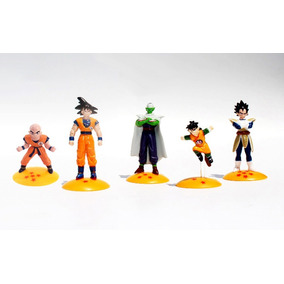 Set 5 Minifiguras Dragon Ball Z Goku Frezzer Vegeta Gohan