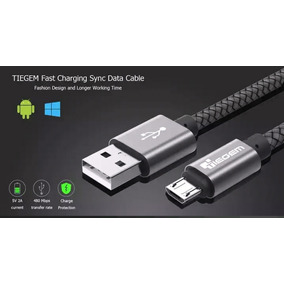 Cable Micro Usb Premium 5v 1m 2a Quick Charge Tiegem