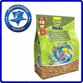 Ração Tetra Pond Sticks 25l 3kg - Bag Para Aquários