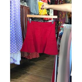Falda Linea A Ambiance En Roja Negra Azul Marino Y Tinta fb20699a35db