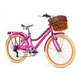 Bicicleta Mercurio Capressi 6 Vel Canasta Parrilla R24 2018