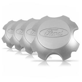 Jg Calota Tampa Miolo Roda Ford Ecosport Freestyle Prata
