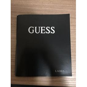 Manual Relógio Guess Ladies - Original
