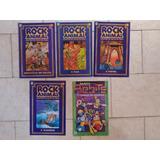 5 Gibis Recreio Rock Animal Aventura Centro Da Terra Robits
