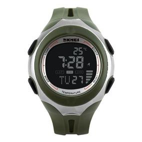 d2636f0203a Relógio Casio Outgear Sgw-100 Digital Termômetro Bússola Pt. Santa Catarina  · Relógio Masculino Skmei Digital Termômetro 1080 Verde