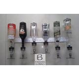 Dosificador De Licor Horizontal De 6 Botellas Válvula 30ml