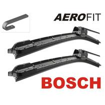 Palheta Bosch Fox + Calha De Chuva Fox 4 Portas