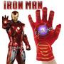 Guante Iron Man Luz Y Sonido Juguete Vengadores Niño Disfraz