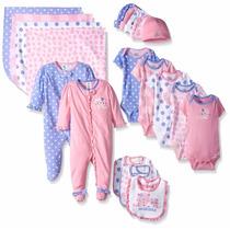Gerber Ropa De Bebé Para Niña, 19 Piezas Recién Nacido 0-3 M