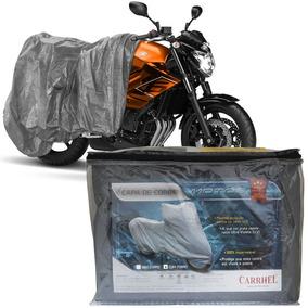 Capa Cobrir Moto Protetora Forrada Impermeável Anti Uv P M G