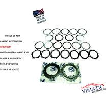 Discos De Aço Cambio Automatico 4l60e - Blazer, S10, Ss10