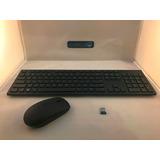 Kit Teclado Y Mouse Dell Km636 Inalambrico Usb