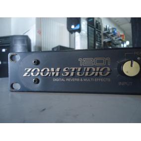 Processador De Efeitos Reverb De Rack Zoom Studio 1201