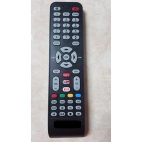 Control Pantalla Tv Pioneer Smart Netflix Generico Negro
