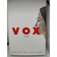 Vox Novela Ingles Christina Dalcher Libro